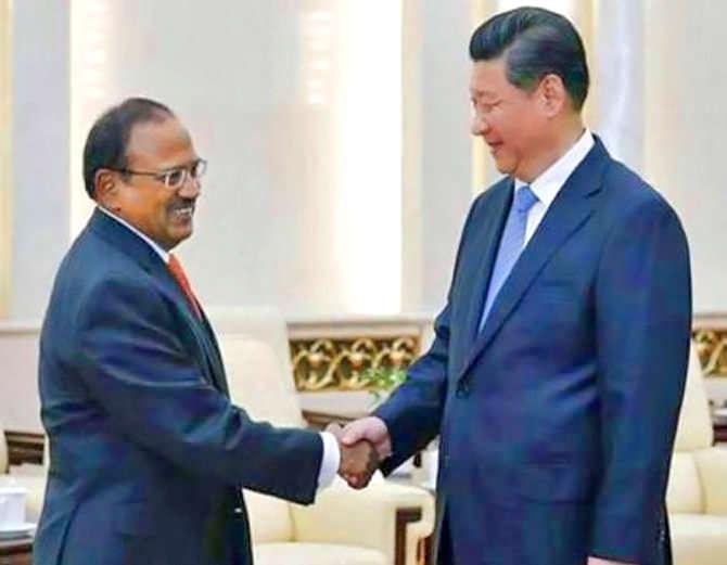 अजित डोभाल का चीन दौरा