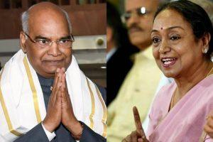 रामनाथ कोविंद और मीरा कुमार