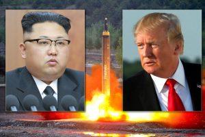 डोनाल्ड ट्रम्प और किम जोंग उन उत्तर कोरिया