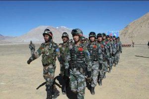 भारत चीन सेना लदाख