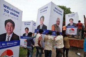 जापानी प्रधानमंत्री शिंजो अबे का भारत दौरा