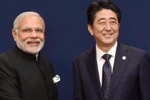 पीएम मोदी और जापान के प्रधानमंत्री शिंजो आबे