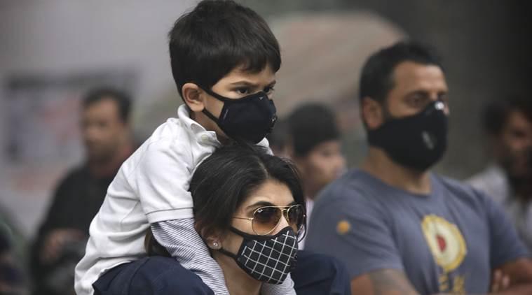 दिल्ली में प्रदुषण का असर