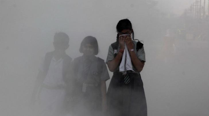 वायु प्रदुषण दिल्ली