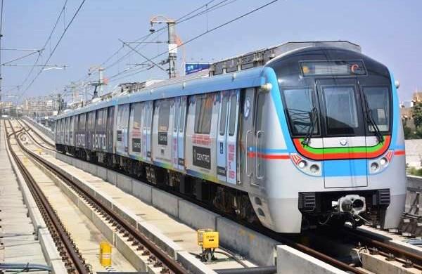 हैदराबाद में मेट्रो रेल