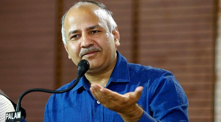 दिल्ली के उपमुख्यमंत्री मनीष सिसोदिया