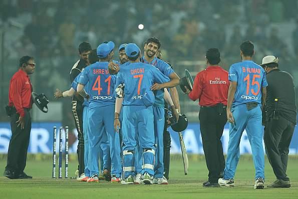 भारत न्यूज़ीलैण्ड मैच