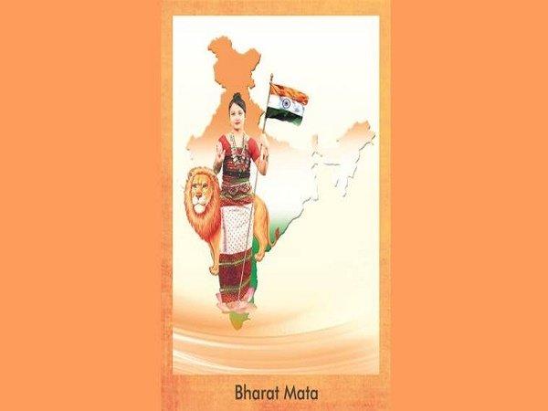 नए अवतार में भारत माता