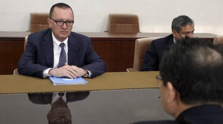 संयुक्त राष्ट्र उत्तर कोरिया राजनीतिक प्रमुख