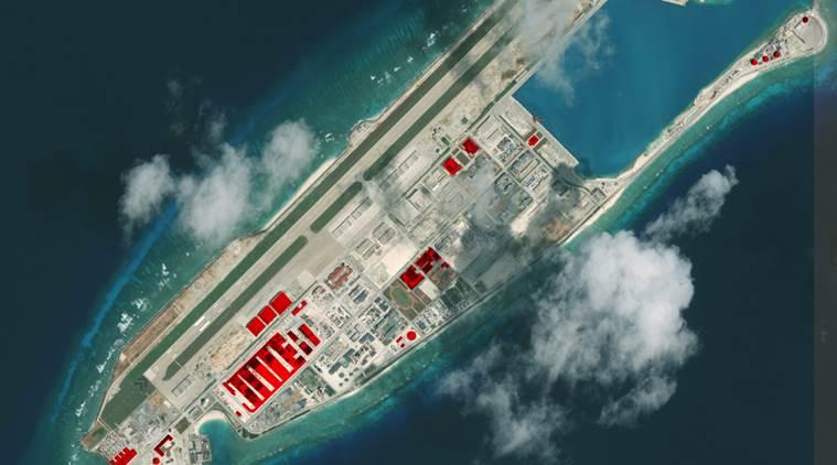 चीन दक्षिणी चीन सागर अमेरिका