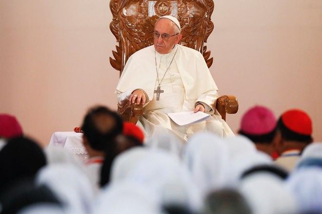 पोप फ्रांसिस बांग्लादेश रोहिंग्या