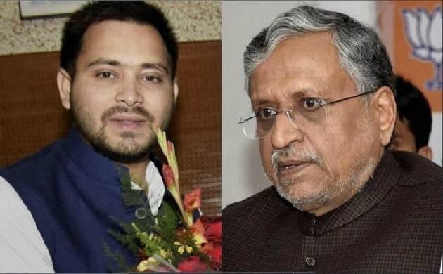 सुशील मोदी और तेजस्वी यादव के बीच ट्वीट वॉर