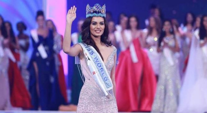 मिस वर्ल्ड 2017 मानुषी छिल्लर
