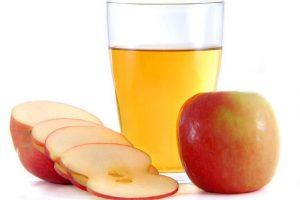 सेब का सिरका मुंह पर