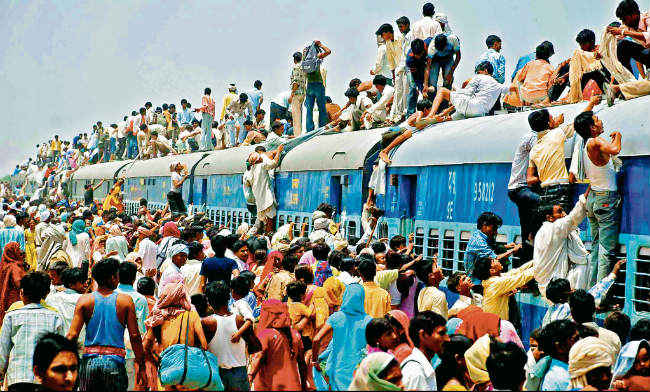 बढ़ती जनसंख्या पर निबंध