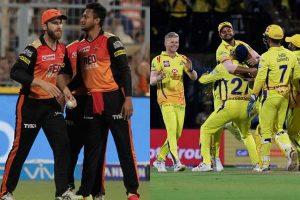 चेन्नई हैदराबाद मैच