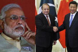 मोदी पाकिस्तान चीन