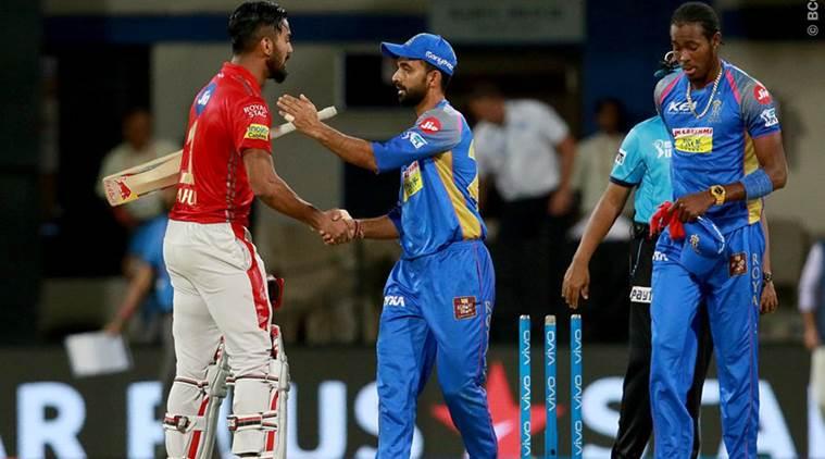 राजस्थान पंजाब मैच