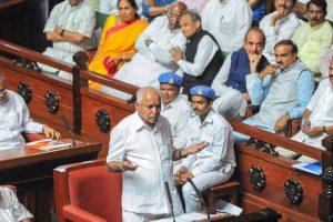 येदयुरप्पा इस्तीफा