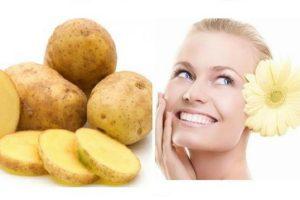 आलू फेस पैक potato face pack in hindi
