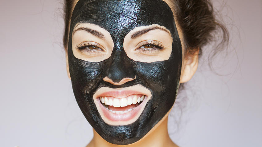 activated charcoal for skin in hindi