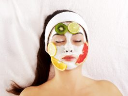 फ्रूट फेसियल fruit facial at home in hindi