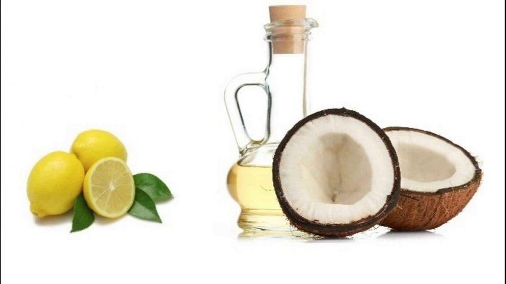नारियल तेल और नीम्बू का रस बालों के लिए - coconut oil and lemon for hair in hindi
