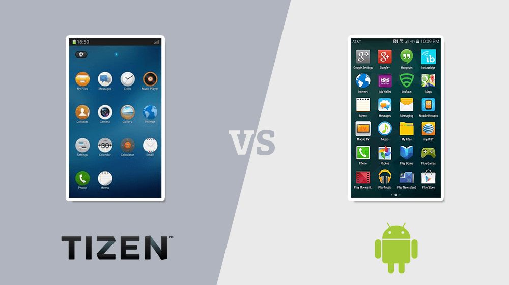 tizen and android in hindi