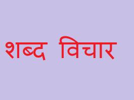 Shabd Vichar, shabd vichar ki paribhasha, Tadbhav Shabd, Deshaj Shabd And Videshi Shabd, shabd kise kehte hain