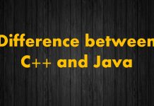 Difference between C++ and Java in hindi