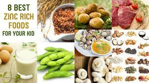 उच्च मात्रा में जिंक युक्त खाद्य पदार्थ zinc foods list in hindi