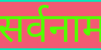 सर्वनाम sarvnam in hindi
