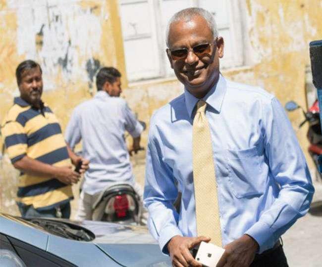 मालदीव के नए राष्ट्रपति इब्राहिम सोलीह