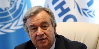 एंटोनियो गुटेरेस संयुक्त राष्ट्र