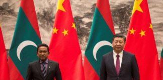 चीन और मालदीव