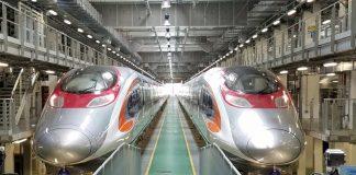 चीन हांगकांग रेल