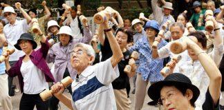 जापान उम्रदराज लोग