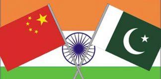 भारत चीन पाकिस्तान