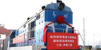 चीन पाकिस्तान रेल मार्ग