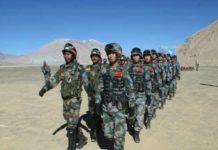 भारत चीनी सेना