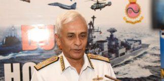 नौसेना प्रमुख एडमिरल सुनील लांबा