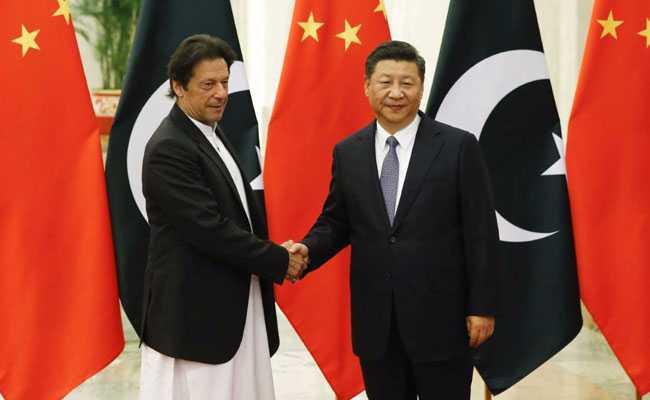 पाकिस्तानी प्रधानमंत्री इमरान खान और चीनी राष्ट्रपति शी जिंगपिंग