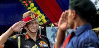 भारतीय आर्मी प्रमुख बिपिन रावत