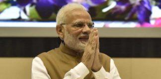 भारतीय प्रधानमंत्री नरेन्द्र मोदी