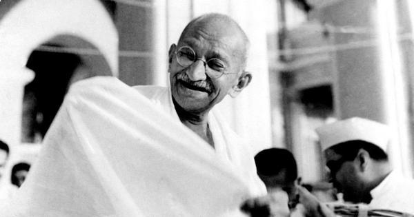 भारत के राष्ट्रपिता महात्मा गाँधी