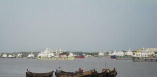 म्यांमार बंदरगाह