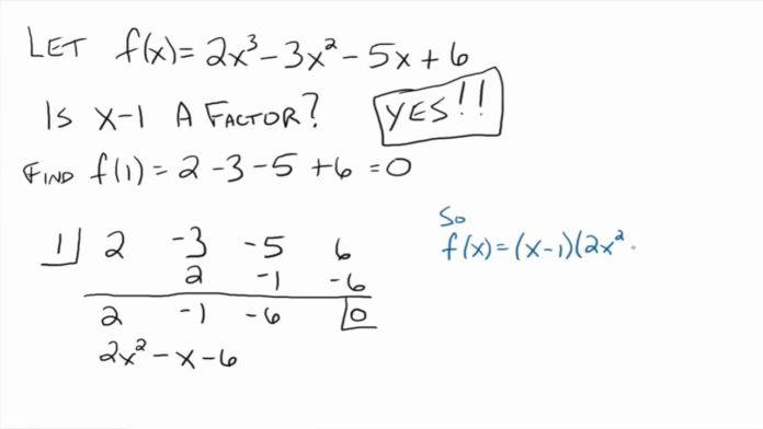 शेषफल प्रमेय remainder theorem in hindi