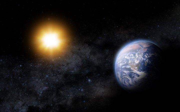 सूर्य प्रकाश पृथ्वी