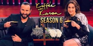saif sara coffee with karan