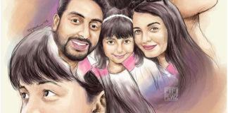 aradhya bachcha and family